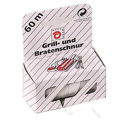 Wihedü Grill- und Bratenschnur, reißfest, je 60 m (20 Stück)