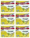 Pineapple Gelatin Dessert Jello Halal 3.oz/85gm each - Pack of 6 - جيلية حلال بطعم الأناناس