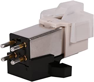 Record Player Phonograph Needle Pickup Stylus Moving Magnet Cartridge with Mounting Screws Shellac Phonograph