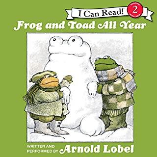 Frog and Toad All Year audiobook cover art