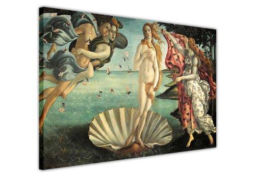 Die Geburt der Venus Gemälde von Sandro Botticelli auf Leinwand, Bilder Foto Prints Raum Dekoration Home Décor Classic Fotos Ölgemälde, canvas, 2- A3 - 16