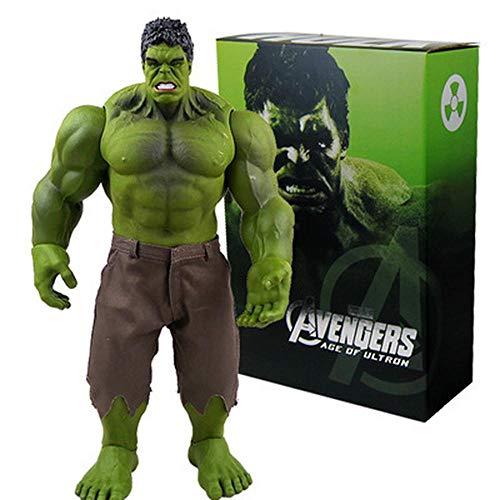 LZH Avengers Hulk Modell Statue Anime-Cartoon-Charakter-Kind-Geschenk-Sammlung 40 cm