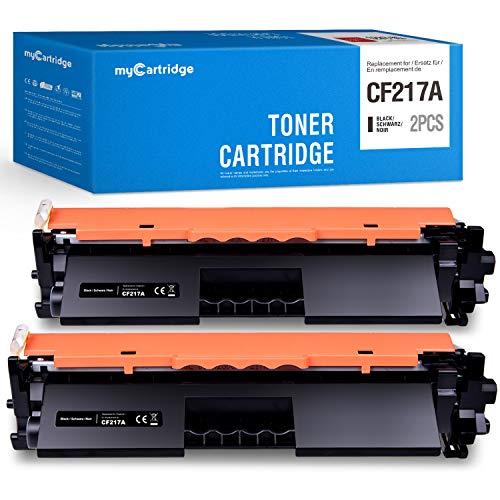 MyCartridge kompatibel HP 17A CF217A Toner für HP Laserjet Pro MFP M130fw M130nw M130fn M130a HP Laserjet Pro M102w M102a 2-Pack