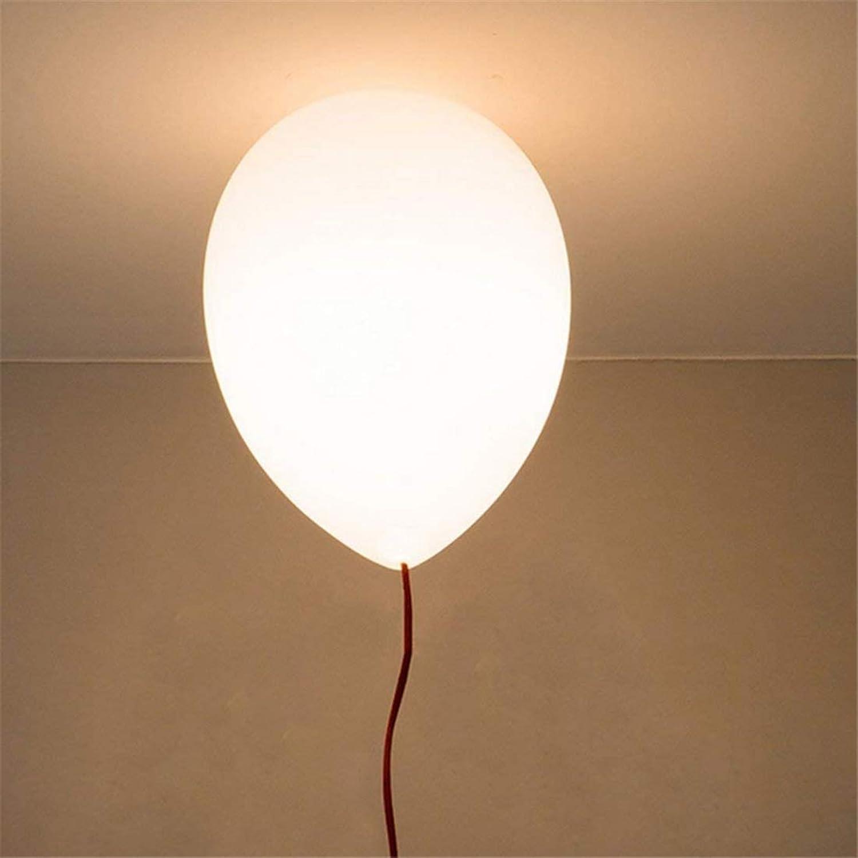 Lightmoderne Ballon Scheinwerfer Kronleuchter Einfach 1 Decke Leichte Anhnger Für Kinder Raum Esszimmer, Schlafzimmer, Wohnzimmer Hngen Licht Wei E27  25cm Wei