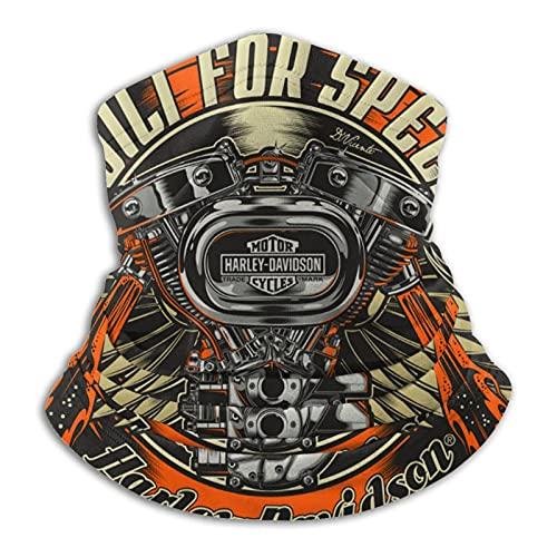 Harley Davidson máscara cálida bufanda a prueba de viento transpirable pesca senderismo correr ciclismo esquí snowboard