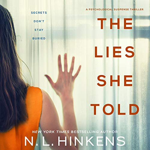 The Lies She Told audiobook cover art