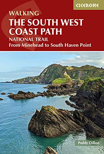 Walking the South West Coast Path: National Trail from Minehead to South Haven Point (Uk Long-distance Trails)