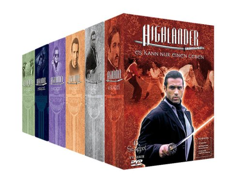 Highlander - Staffel 1-6 Komplett-Package [45 DVDs]