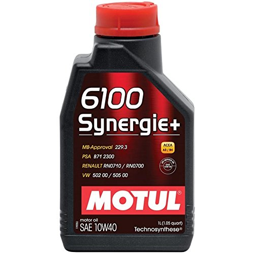 MOTUL 102781-12PK 102781 6100 Synergie+ 10W40 / 1Liter