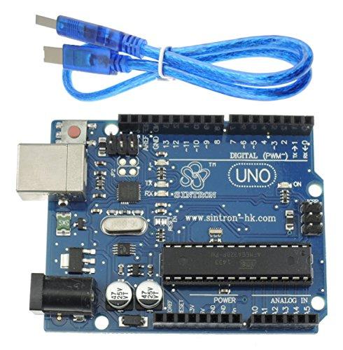 [Sintron] New Arduino Uno R3 V3.0 ATMEGA328P + USB cable
