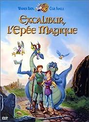 « Excalibur, l'épée magique », Frederik Du Chau)