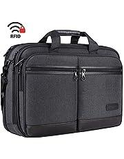 KROSER ビジネスバッグ メンズ 17.3インチPC対応 ノートパソコンバッグ pcバッグ 大容量 コンピュータバッグ ラップトップバッグ/撥水/ビジネス/通勤/通學/出張/営業
