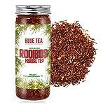 BLUE TEA - Organic Rooibos Natural Herbal Tea  Caffeine Free Tea Rich in