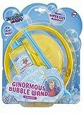 KreativeKraft Pomperos para Niños, Juego Pompas Jabon Gigantes, Incluye Varita para Hacer Burbujas de Jabon Enormes y Bote Jabon, Juegos al Aire Libre Jardin, Regalos Originales para Niños