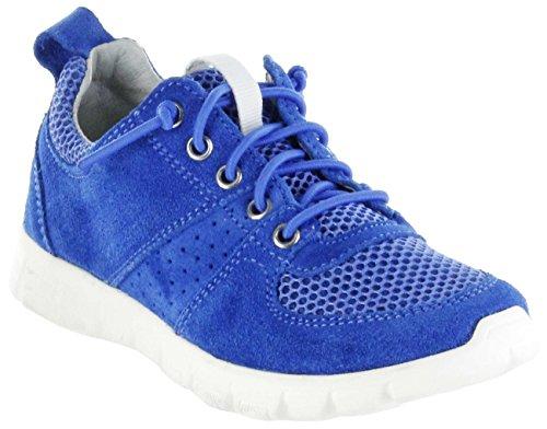 Richter Kinder Halbschuhe Sneaker blau Velourleder Jungen Schuhe 6622-341-6910 Lagoon Run, Farbe:blau, Größe:31