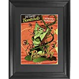 Poison Ivy 3D Poster Wall Art Decor Framed Print | 14.5x18.5 | Lenticular Posters & Pictures | Memorabilia Gifts for Guys & Girls Bedroom | DC Comic Book Classic Hero Movie Fan Picture & Collectable