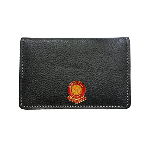 Bristol City Football Club Leather Card Holder Wallet