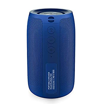 Bluetooth Speaker,MusiBaby Speaker,Outdoor Portable,Waterproof,Wireless Speakers,Dual Pairing,Bluetooth 5.0,Loud Stereo Booming Bass,1500 Mins Playtime for Home&Party  Blue