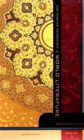 The Norton Anthology of World Literature, Package 1...