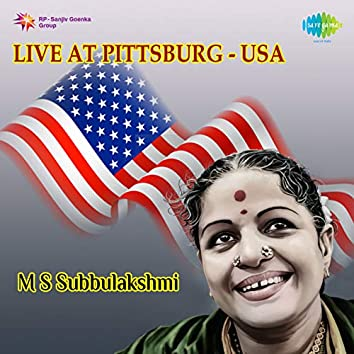 M. S. Subbulakshmi - Live at Pittsburg USA