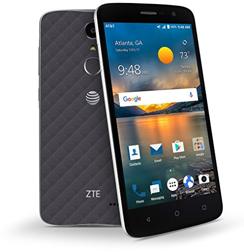 "ZTE Blade Spark Z971 (16GB, 2GB RAM) 5.5"" Full HD Display | Dual Camera | 3140 mAh Battery | Android 7.1 Nougat | Fingerprint Security | 4G LTE | GSM Unlocked Smartphone"