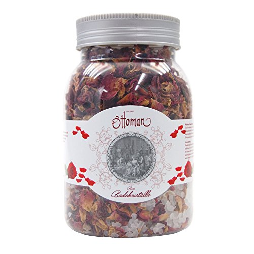 Ottoman Rose Badekristalle , 1er Pack (1 x 450 g)