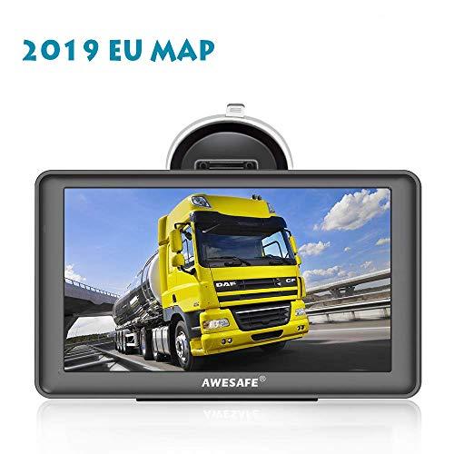 GPS Voiture Navigation 7 Pouces HD écran Tactile Multi-Langue Voice Play Pré-installé 48 Pays en...