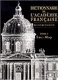 Dictionnaire de l'Académie française, tome 2 - Eoc-Map