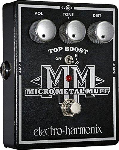electro-harmonix エレクトロハーモニクス エフェクター ディストーション Micro Metal Muff 【国内正規品】