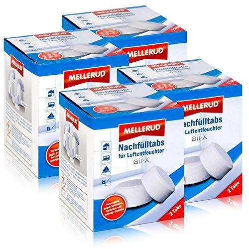 Mellerud Luftentfeuchter air-X Nachfülltabs 2 Tabs (4er Pack)