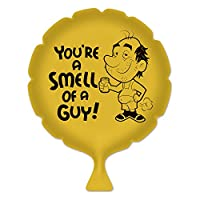 Beistle 54263 You're a Smell of a Guy Whoopee クッション 8インチ