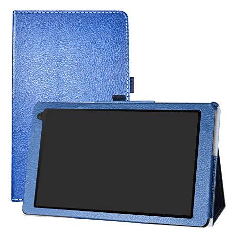 LFDZ Medion Lifetab X10605 Hülle, Schutzhülle mit Hochwertiges PU Leder Tasche Case für 10.1
