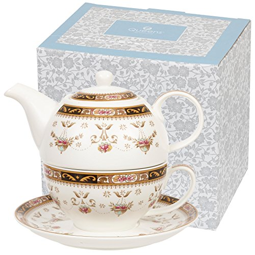 Queens Classic Tea for One Tee-Set in Geschenkbox