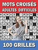 Mots Croisés Adultes Difficiles: Ce Livre de Mots Croisés Vous Aide...