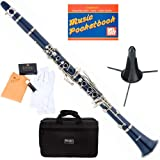 flat clarinets with case