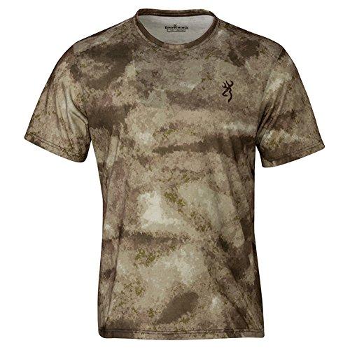 Browning Men's Speed Tee Au Shirt, Camo, Medium