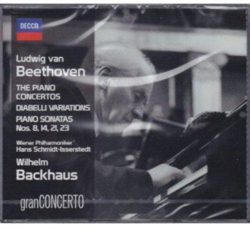 The Piano Concertos, Diabelli Variations, Piano Sonatas N.8,14,21,23