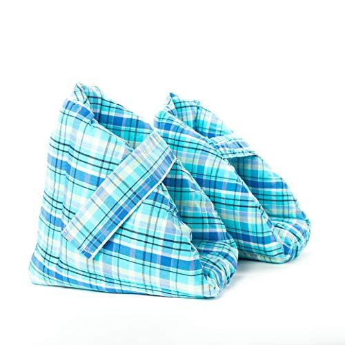 Comfort Finds Foot Pillows,Heel Protectors, Heel Cushions, Heel Protection, Effective Pressure Sore and Heel Ulcer Relief, Great for Swollen Feet, Comfort Heel Protection Foot Pillows, One Pair, Plaid