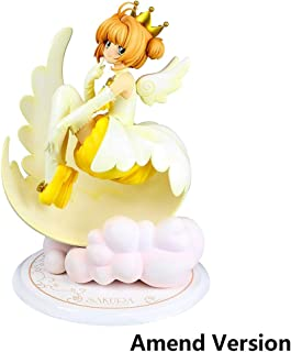 Lilongjiao Cardcaptor Sakura: Sakura Kinomoto Angel Crown PVC Figure - High 7.08 Inches