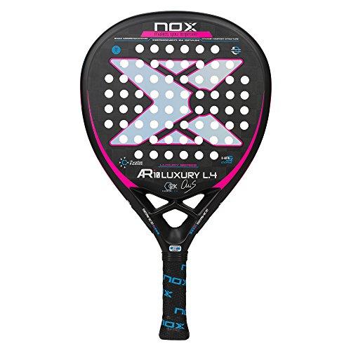 NOX AR10 Luxury L4 2018 Pala de pádel, Mujer, Negro, Talla Única
