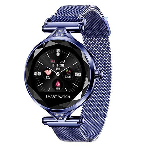 Zholmei Praktische Smart WatchNew Smart Fitness Armband Vrouwen bloeddrukpulsbewaking Armband Dames Horloge Geschenk voor vrienden (Kleur: Rose Goud)