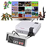 Classic Mini Handheld Retro Game Console with Built-in 620 Video Games and 2 Controllers,8-bit AV Output Mini Classic NES Console,An Ideal Gift for Kids and Adults.