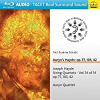 弦楽四重奏曲Op.77、103、42 アウリン四重奏団