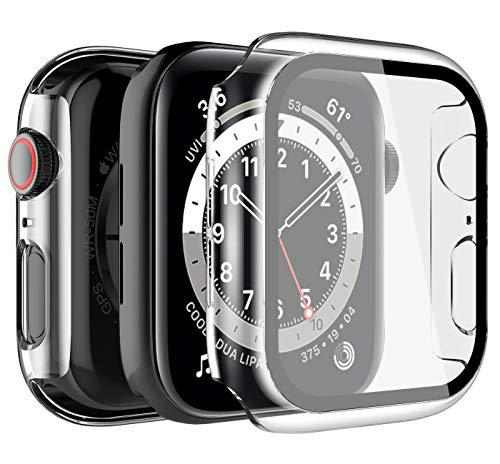 LK 2 Pack Case Compatible with Apple Watch Series 6 SE 40mm
