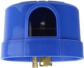 J.LUMI YCA1008 Twist Lock Photocell Sensor, Blue, Electronic Type, Photocell for Outdoor Lights, Twist Lock Photo Control Light Sensor, Dusk to Dawn Light Sensor (UL Listed)