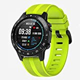 M5 Sports Tracking Smartwatch Bluetooth avec GPS intégré