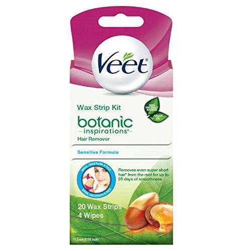 Veet Body Bikini And Face Hair Remover Wax Kit 20 Ct Buy