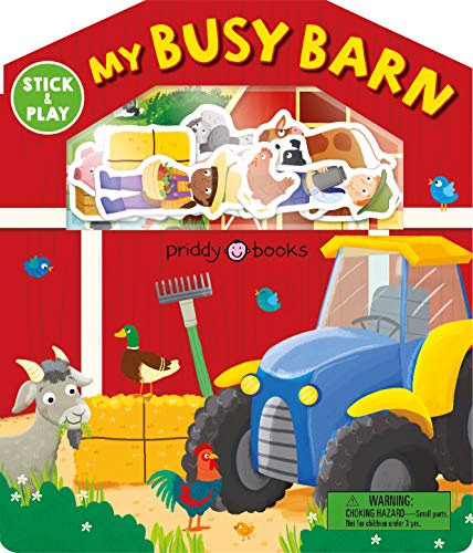 Stick and Play: My Busy Barn (Magic Sticker Play and Learn)