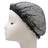 JETEHO 5 Pack Womens Mesh Hair Net for Sleeping Crochet Hairnet