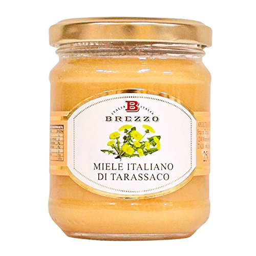 BREZZO 非加熱 イタリア産天然はちみつ たんぽぽ 250g